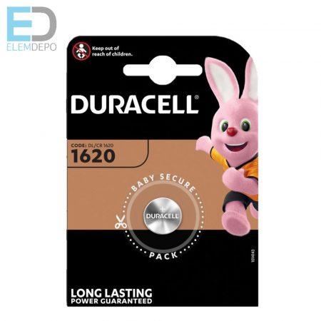 Duracell 1db elem Lithium CR1620 3V BL1