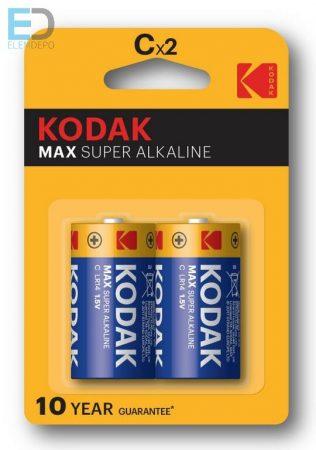 KODAK MAX Alkaline KC2 MN1400 C LR14 baby elem