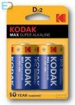 KODAK MAX KD2 LR20 D Alkaline góliát elem