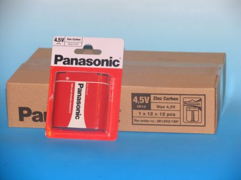 Panasonic 1db elem R12 4,5V