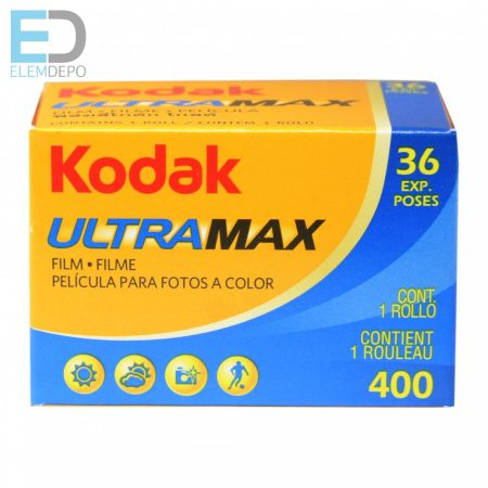 Kodak UltraMax 400- 135-36 GC negatív film