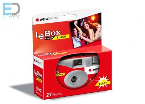AGFAPhoto LeBox Flash 400-27 vakus eldobható, egyszerhasználatos fényképezőgép