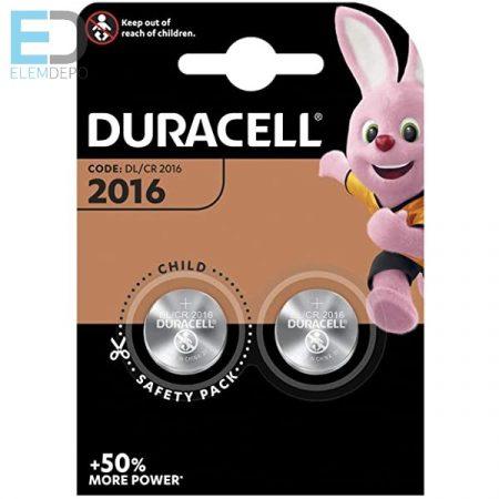 Duracell 1db elem Lithium DL2016 CR2016 3V BL1
