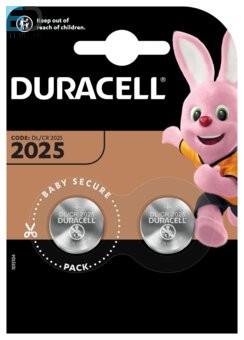 Duracell 1db elem Lithium DL 2025 CR2025 3V BL2 NEW