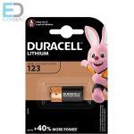 Duracell  1db elem DL 123A Lithium Ultra DL 123 3V BL1