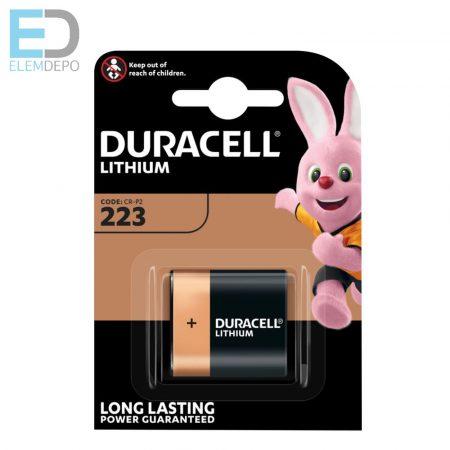 Duracell 1db elem DL 223 Lithium Ultra 6V CRP2  BL1
