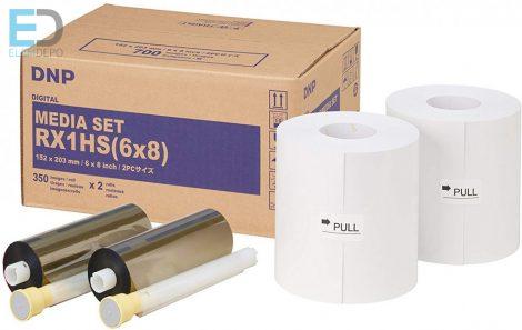 "DNP  DS- RX1 15x 20  700 prints ( 6"" x 8""  ) Media Set"