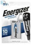 Energizer 1db elem Ultimate Lithium 9V elem L522