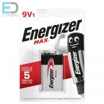 Energizer 1db elem Max 9V 6LR61 BL1