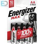 Energizer 1 db ceruza elem Max AA LR6 B4