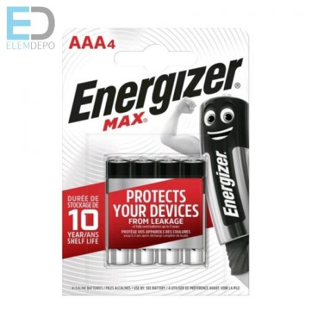 Energizer 1 db elem Max AAA LR03 B4