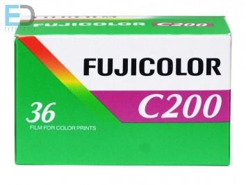 Fujicolor 200-135-36 színes negatív film