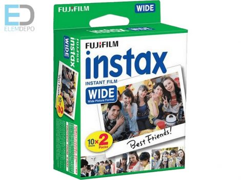 Fuji Instax Wide Twin Film (2x10) 20 kép