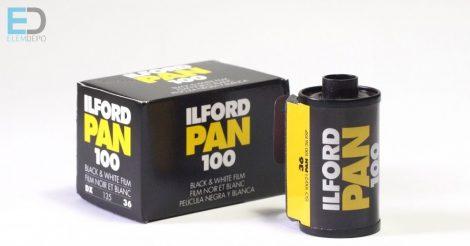 Ilford Pan 100-135-36 Black & White Fekete-fehér negatív