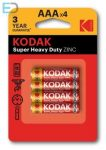 KODAK 1 db elem Super Heavy Duty AAA R3 B4