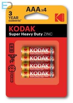 KODAK 1 db elem Extra Heavy Duty AAA R3 B4
