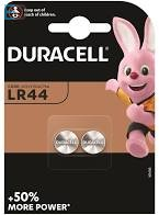 Duracell 1db elem LR44 KA76 AG13  G13A 1,5V gomb BL2