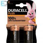 Duracell 1db elem Plus MN1400 C Baby LR14 Elem Bl2
