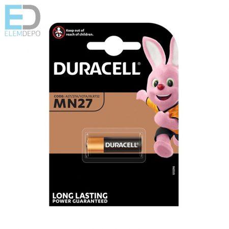 Duracell 1db elem MN27 A27 12V BL1 2019.12. havi amíg a készlet tart