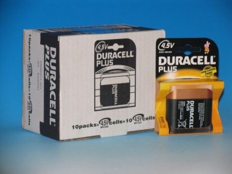 Duracell 1db elem Plus Power 4,5V MN1203  4,5V