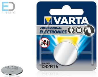 Varta 1db elem CR2016
