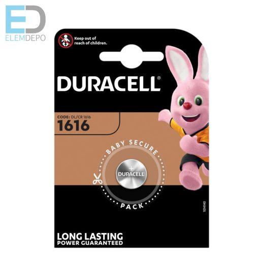 Duracell DL CR 1616 CR1616 3V Lithium