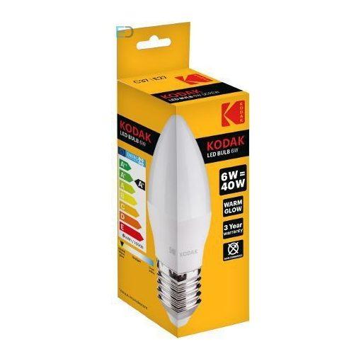 KODAK 30415775 LED CANDLE C37 E27 6W (40W) 480LM WARM-WHITE