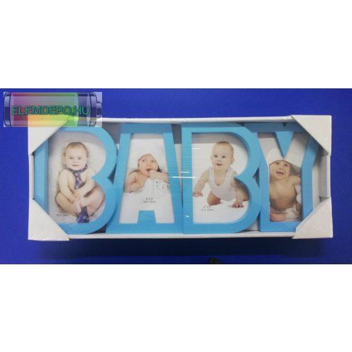 """Képkeret 4 db 10x15 képnek """" BABY"""""""