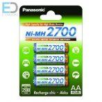Panasonic akku AA 2700mAh Ni-MH High Capacity