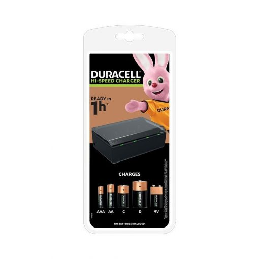 Duracell CEF22   Univerzális töltő Multi Charger for AA/AAA/C/D/9v HI-speed charger 1h