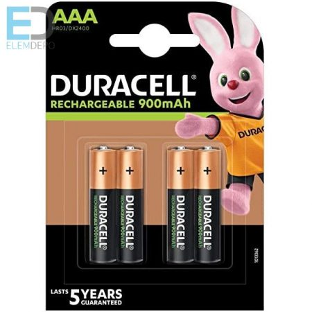 Duracell Recharge Ultra AAA akku 900 mAh  Ready to use Precharged NEW