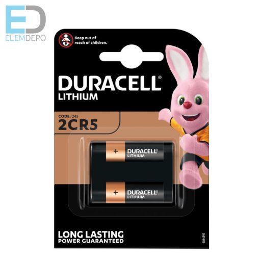 Duracell 2CR5 DL245 6V BL1 Lithium Ultra