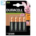Duracell Recharge Ultra Stay Charged 2500 mAh AA accu B4 NEW