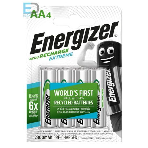 Energizer Extreme HR06 AA 2300mAh B4 akku, tölthető elem