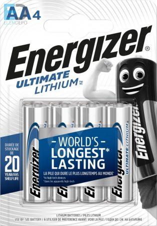 Energizer 1 db ceruza elem Ultimate Lithium AA L91 B4