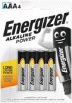 Energizer 1 db elem Alkaline Power NEW LR03 AAA B4 1,5V