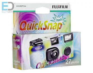 Fuji Quicksnap X-TRA 400-27 Flash Fuji vakus egyszerhasználatos, eldobható fényképezőgép