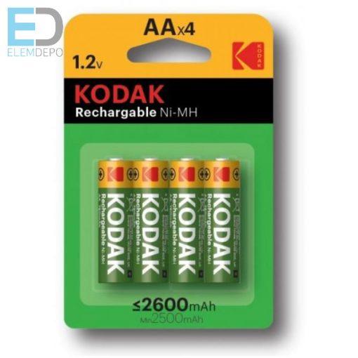 Kodak akku AA HR6 2600mAh B4 KAAHR-4 ( 1 db akku ) cat: 30955097