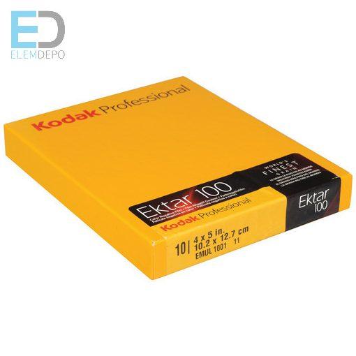 Kodak Ektar 100 4 x 5in. 10,2cm x 12,7cm  síkfilm 10 lap / doboz ( színes negatív síkfilm )