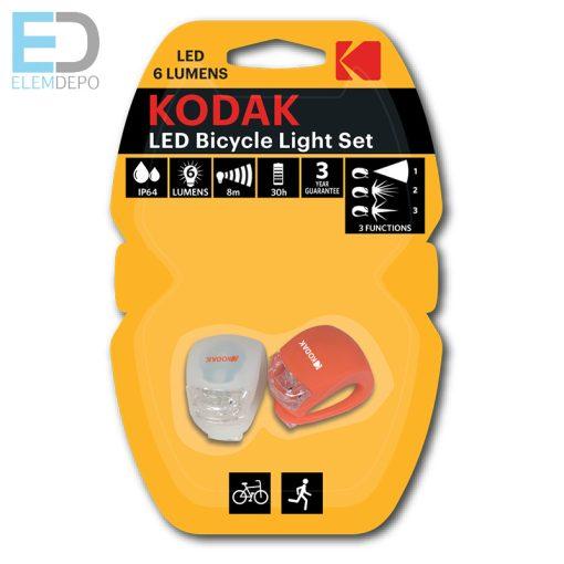 Kodak LED Bike Lights ( 2x 2032 ) kerékpáros lámpa elemmel