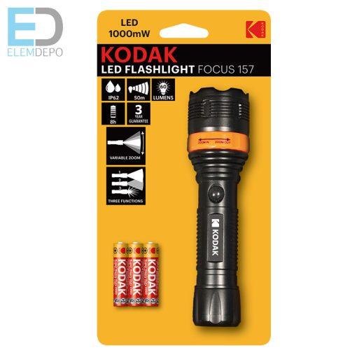 Kodak LED Flashlight Focus 157 elemlámpa