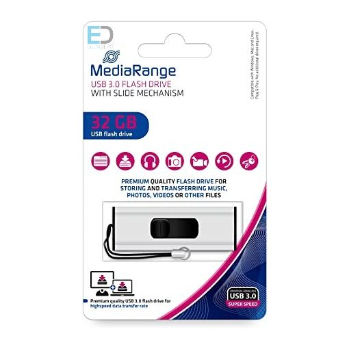 MediaRange USB 3.0 32GB Flash Drive