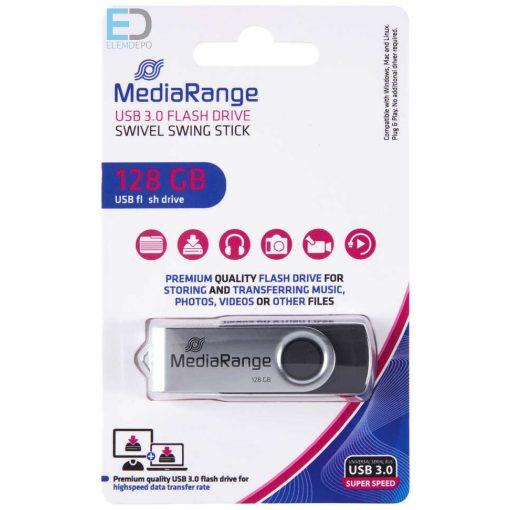 MediaRange USB 3.0 128GB flashdrive, pendrive